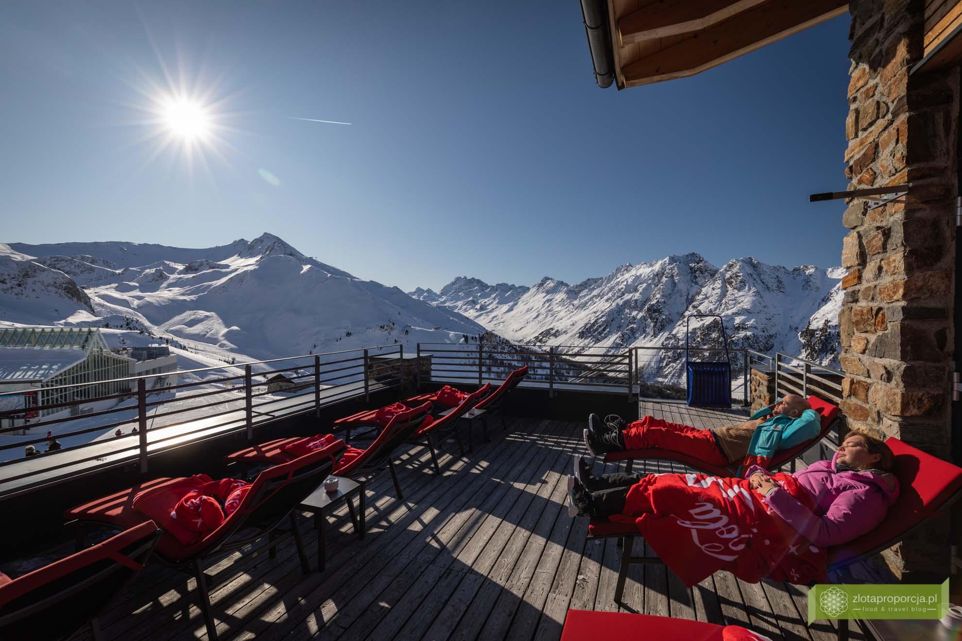 Ischgl; Tyrol; narty w Tyrolu; narty w Austrii; Alpenhaus Ischgl; gdzie zjeść w Ischgl;