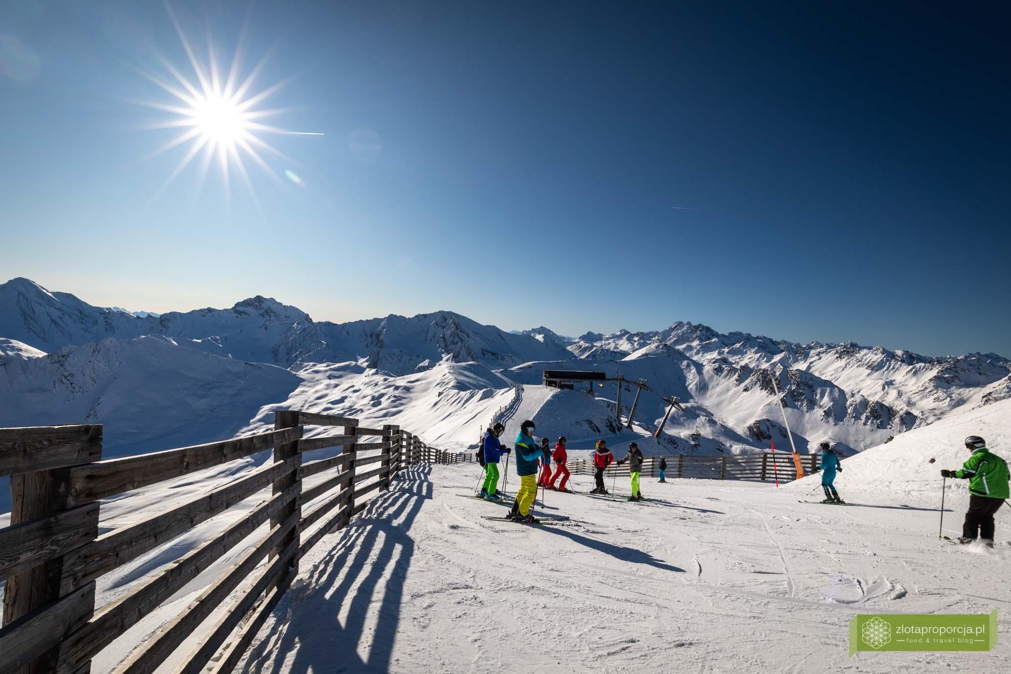 Ischgl; Tyrol; narty w Tyrolu; narty w Austrii; Ischgl trasy; Silvretta Arena; Ischgl narty; Greitspitz; najwyższy punkt Ischgl;