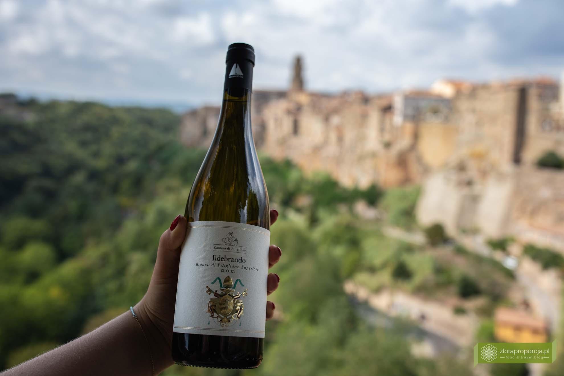 Pitigliano; Bianco di Pitigliano; wino z Pitigliano
