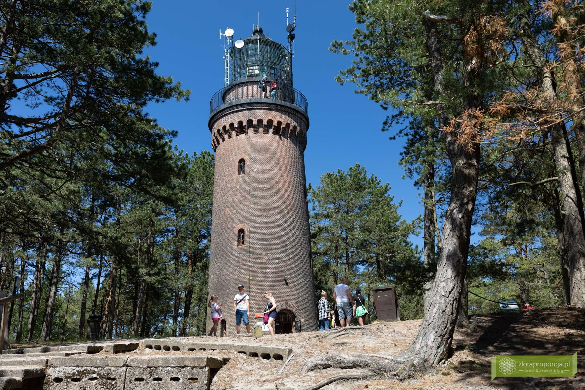 Słowiński Park Narodowy; Morze Bałtyckie, Smołdziński Las; Słowiński Park Narodowy atrakcje; Czołpino; latarnia morska Czołpino;