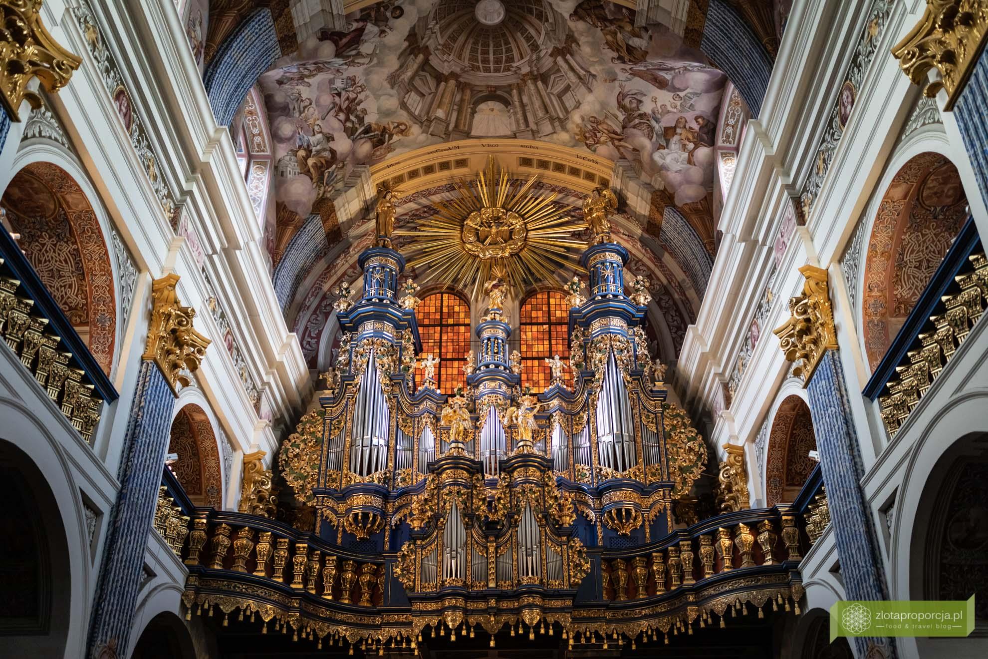 Święta Lipka; Święta Lipka sanktuarium; Święta Lipka organy
