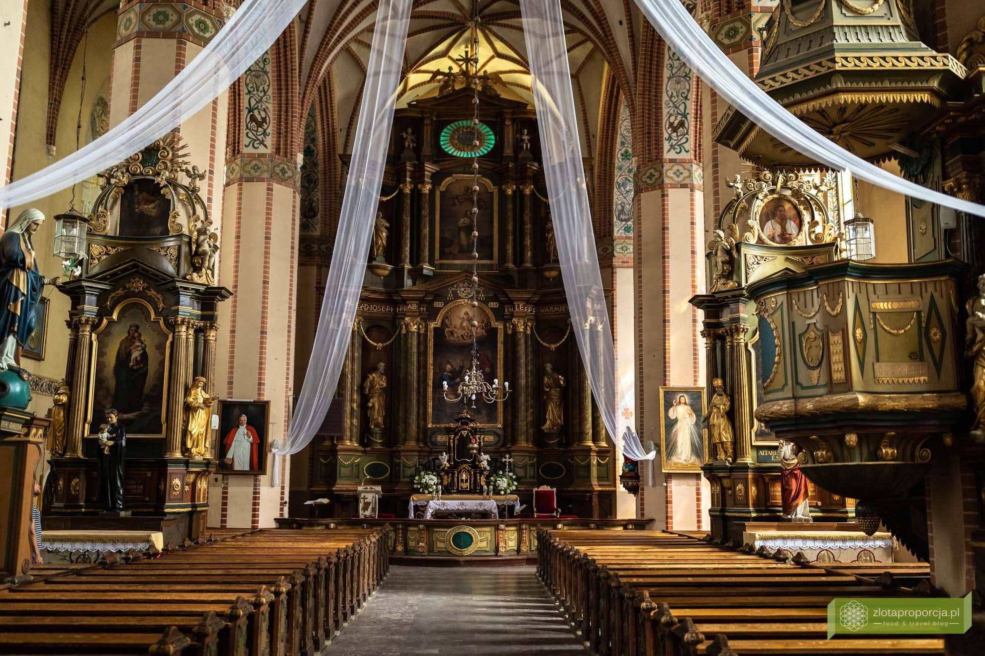 Reszel; Warmia; atrakcje Warmii; atrakcje Reszla; Reszel zwiedzanie; Reszel Kościół; Kościół w Reszlu;