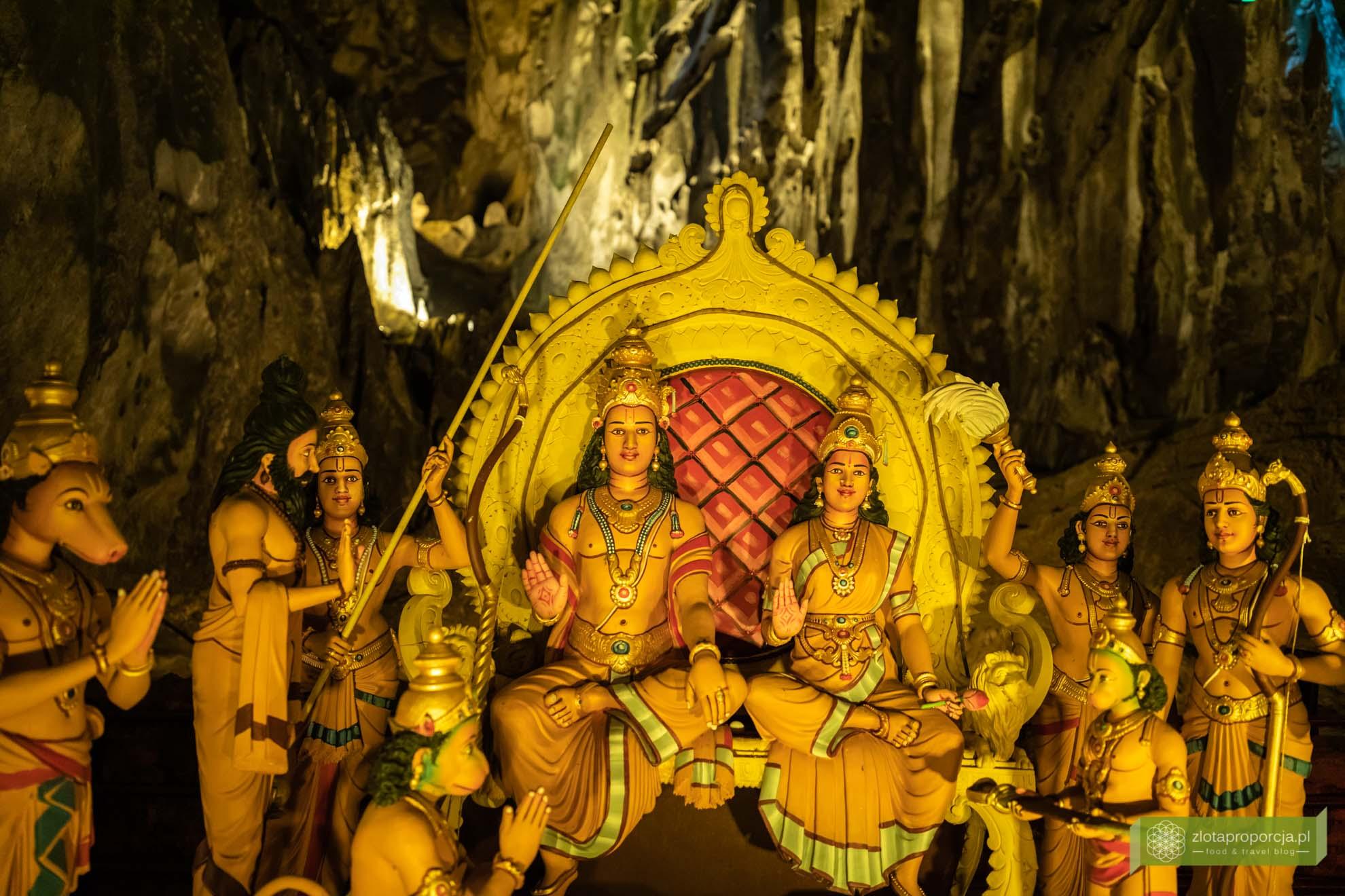 Jaskinie Batu; Batu Caves; Kuala Lumpur; atrakcje Kuala Lumpur; Malezja; Ramayana Cave; jaskinia Ramayana; jaskinie Kuala Lumpur;