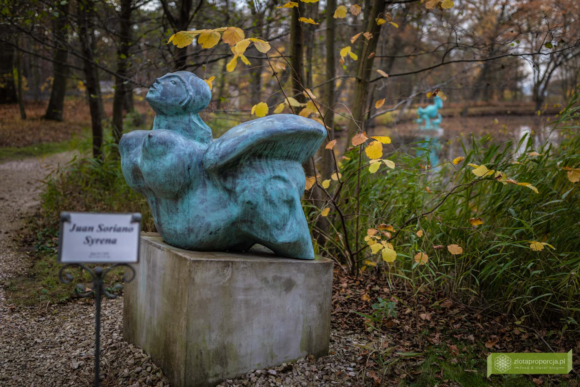Ogród Rzeźb Juana Soriano; ogród Soriano; okolice Warszawy; Juan Soriano; rzeźby Juana Soriano; Mazowsze; Owczarnia; Owczarnia Ogród Soriano; Kazimierówka Owczarnia; okolice Milanówka;