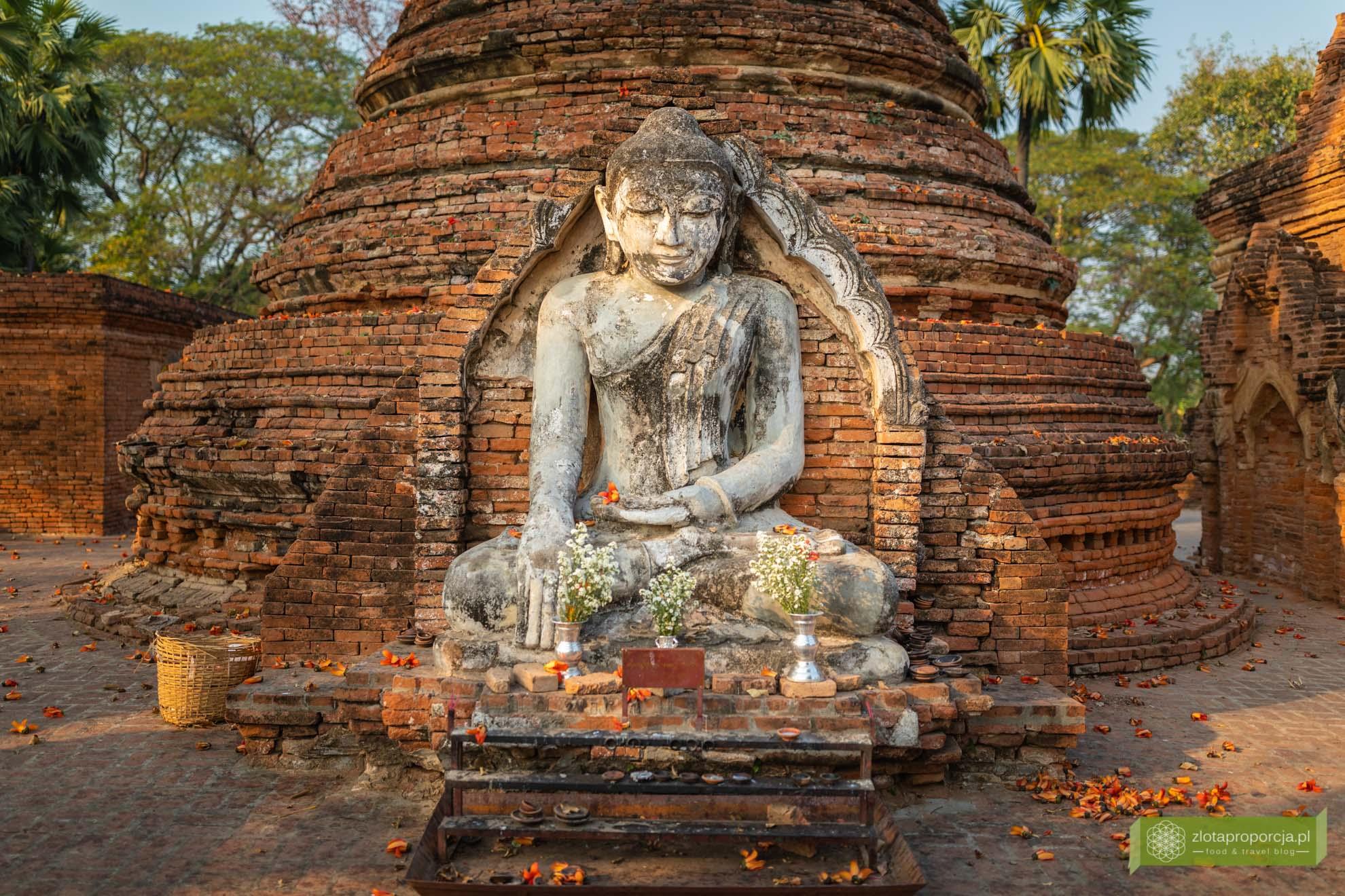 Birma; Mjanma; Myanmar; atrakcje Birmy; Birma podróże; Inwa; okolice Mandalay;