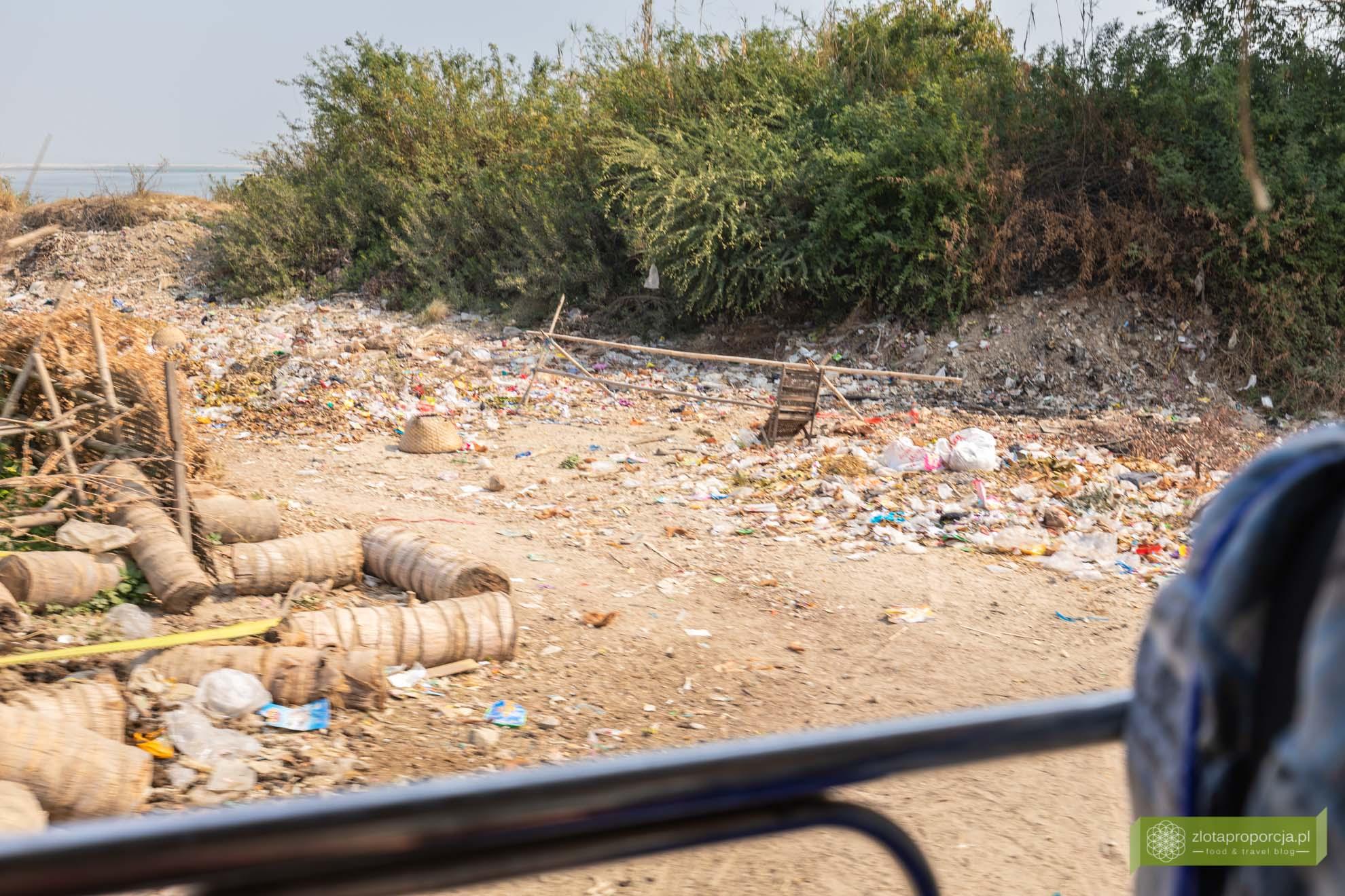 Birma; Mjanma; Myanmar; atrakcje Birmy; Birma podróże; Birma śmieci; śmieci w Birmie;