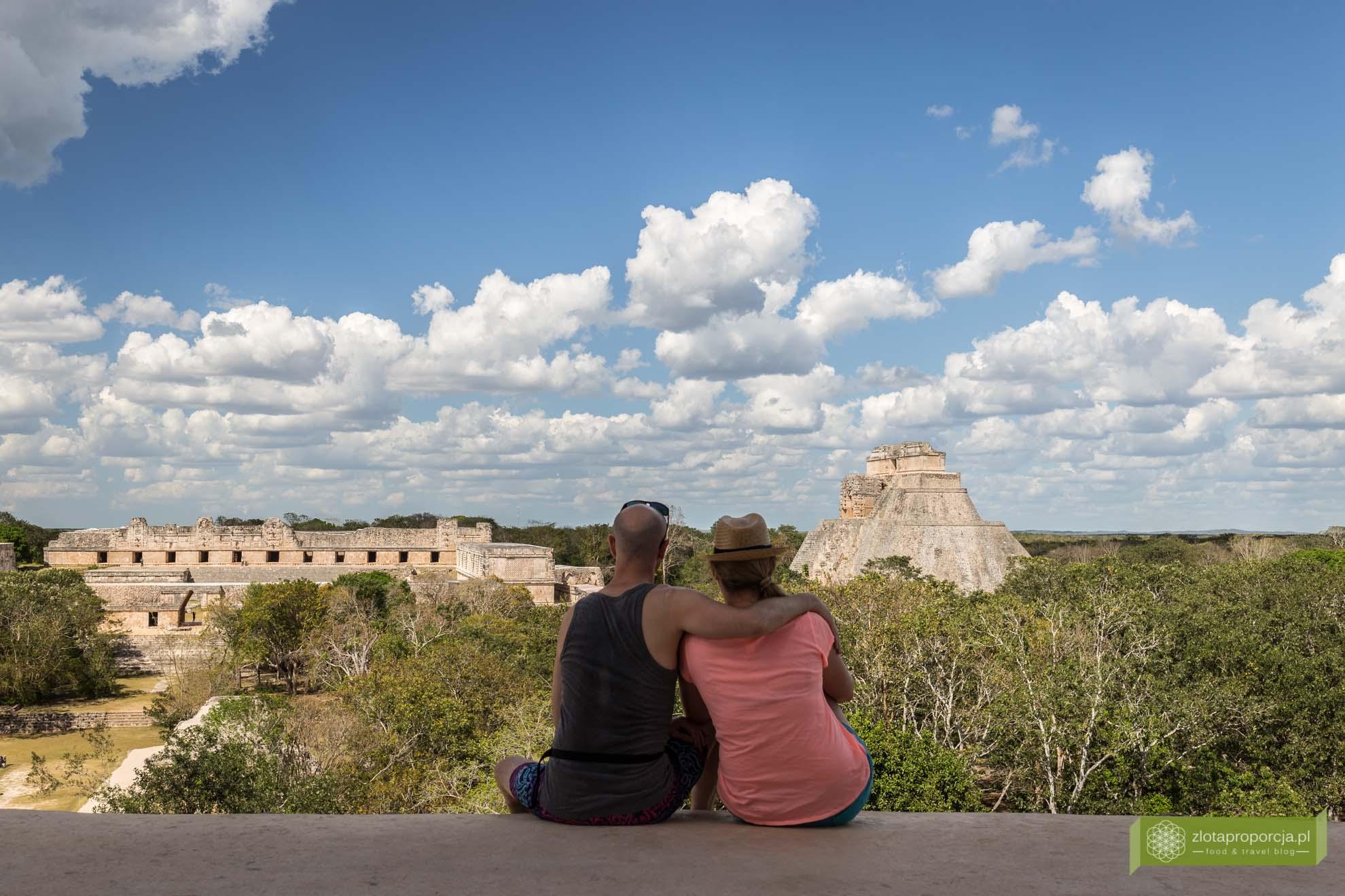 Uxmal; strefa archeologiczna Uxmal; Miasto Majów Uxmal; Uxmal zwiedzanie; Jukatan; Meksyk; Miasto Majów; Puuc; Ruta Puuc; Pałac Gubernatora; Pałac Gubernatora Uxmal;