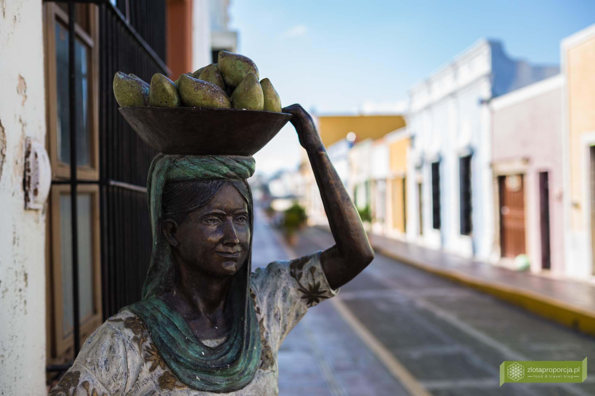 Campeche; Jukatan; Meksyk; starówka Campeche; Campeche Unesco, Meksyk Unesco;