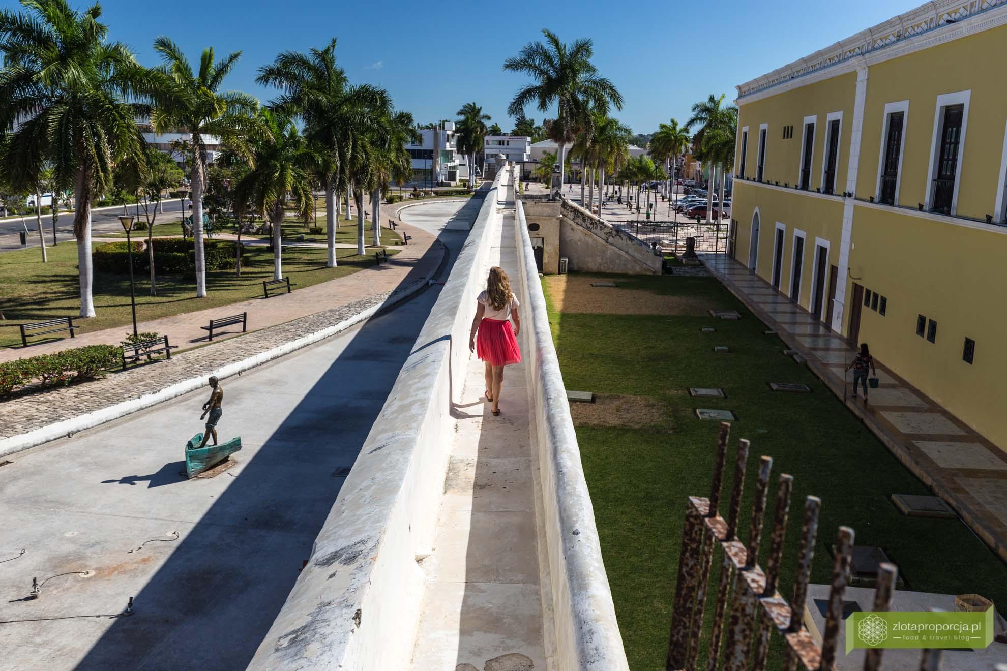 Cempeche; fortyfikacje Campeche, mury Campeche