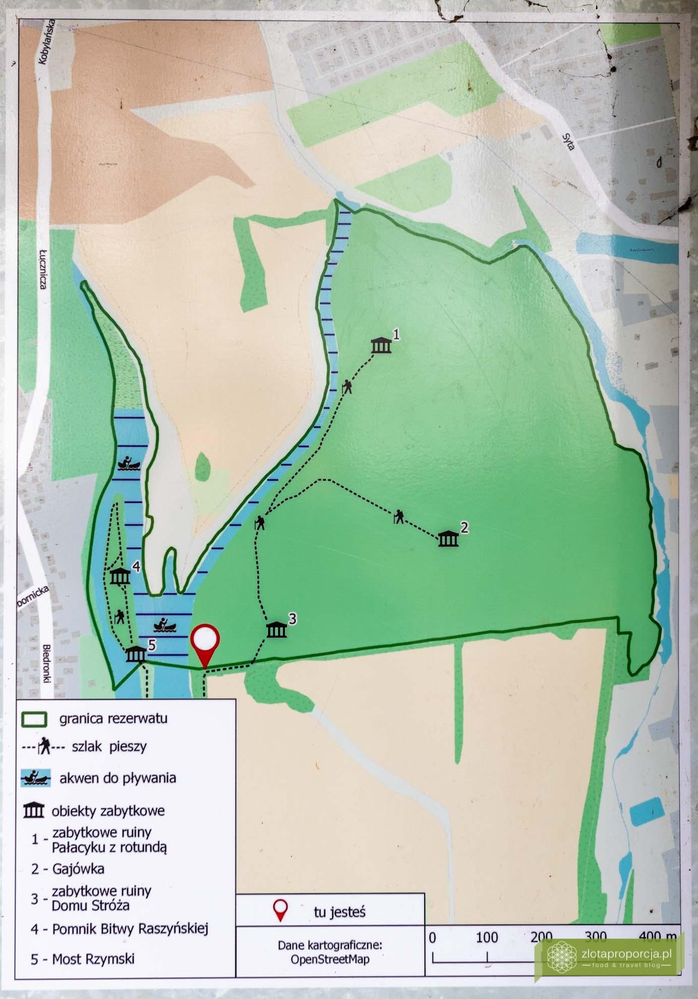 Morysin; Rezerwat Przyrody Morysin; Wilanów; atrakcje Wilanowa; Warszawa; mapa Morysina