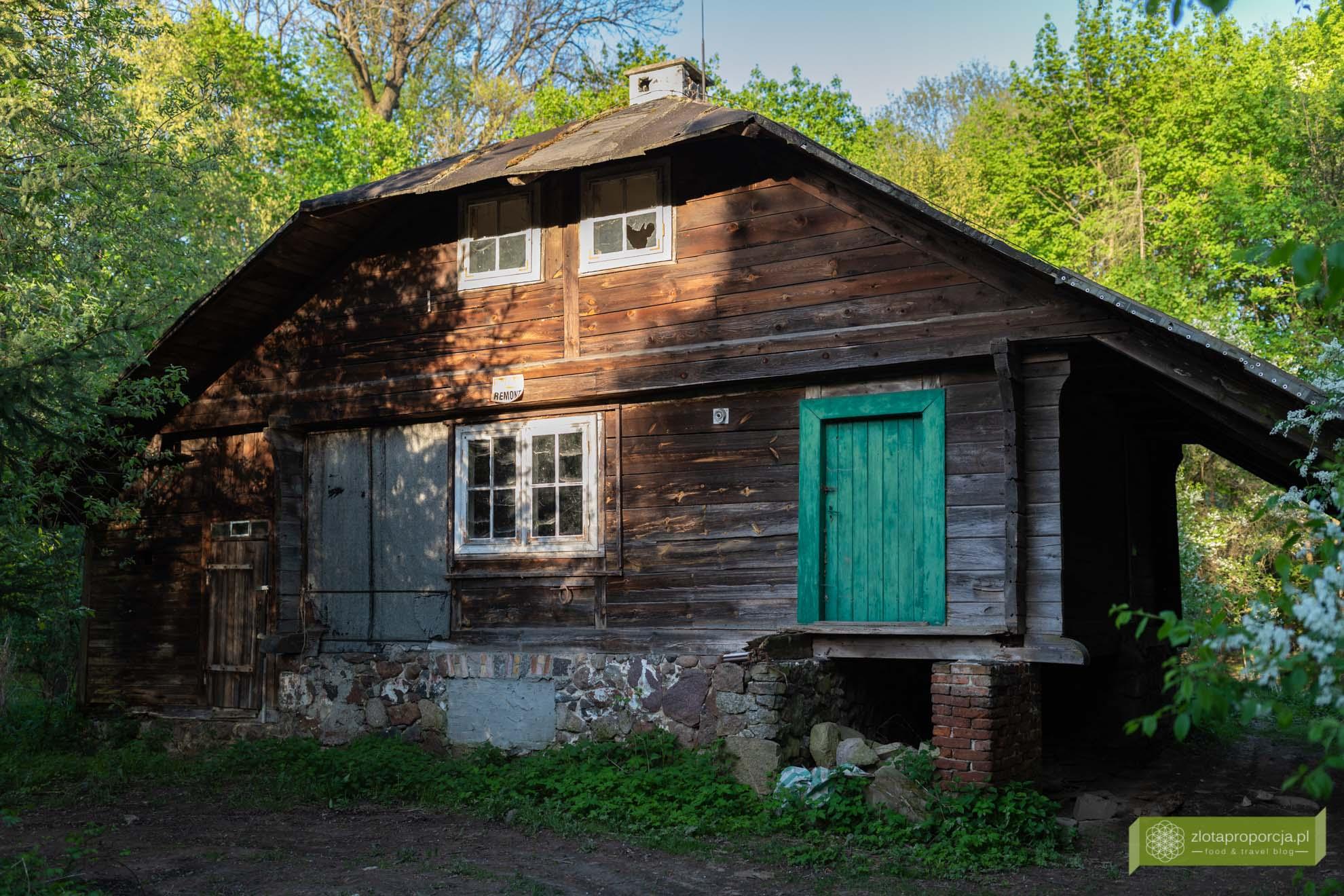 Morysin; Rezerwat Przyrody Morysin; Wilanów; atrakcje Wilanowa; Warszawa; Gajówka