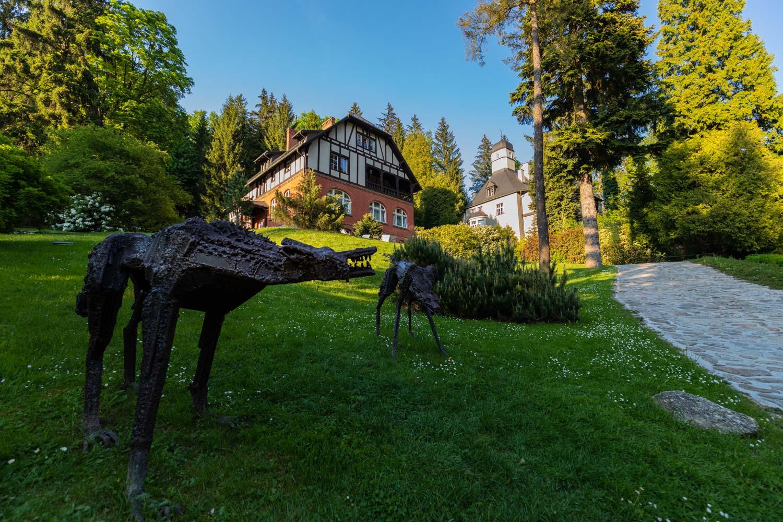 Villa Titina; Międzygórze atrakcje; Kotlina Kłodzka; Międzygórze; wille w stylu tyrolskim; Międzygórze wille; Międzygórze architektura;
