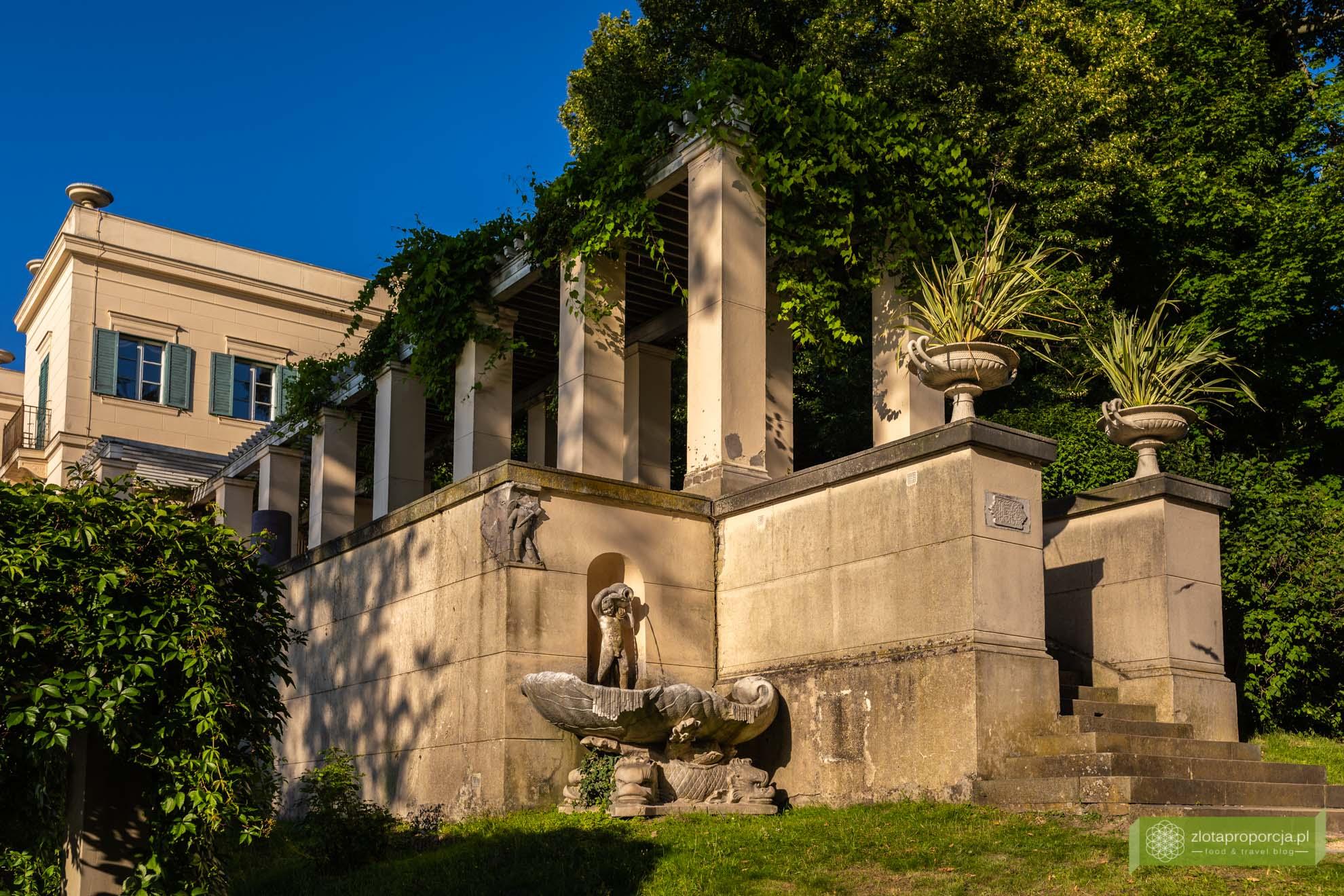 Berlin; Steglitz-Zehlendorf; atrakcje Berlina; Unesco; Berlin Unesco; Park Glienicke; Glienicke; Pałac Glienicke;