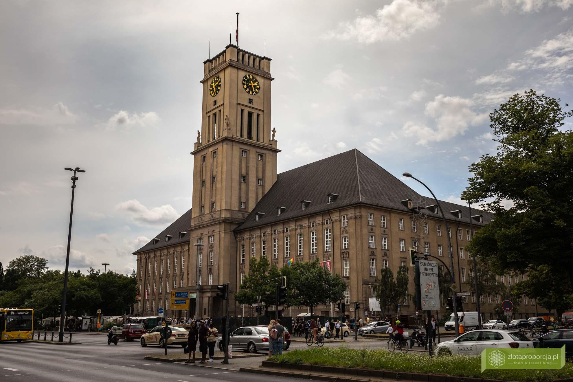 Tempelhof-Schöneberg; nietypowe atrakcje Berlina; Berlin; Ratusz Schöneberg;